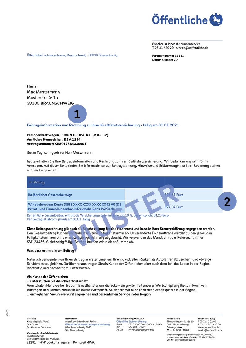 Arbeitgeberbescheinigung Dienstliche Nutzung 8